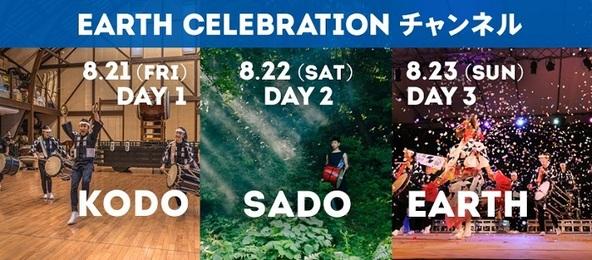 太鼓芸能集団・鼓童『アース・セレブレーション2020』33年の歴史上、初の無料オンライン開催が決定