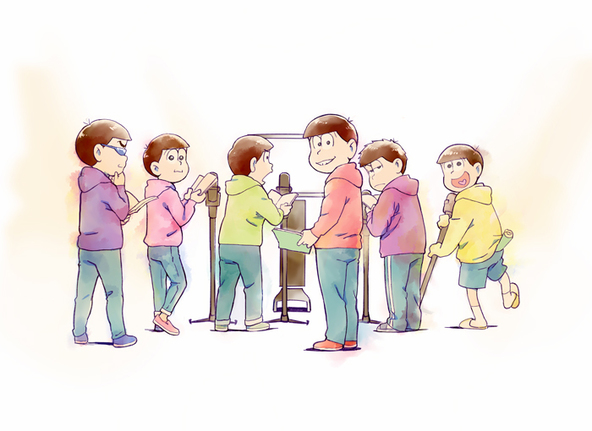 第3期超ティザービジュアル (c)赤塚不二夫/おそ松さん製作委員会
