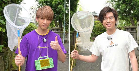 「NEWS2人SP」小山慶一郎(NEWS)、加藤シゲアキ(NEWS) (c)TBS
