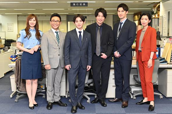 TBS金曜ドラマ「キワドい2人-K2-池袋署刑事課神崎・黒木」 (c)TBS