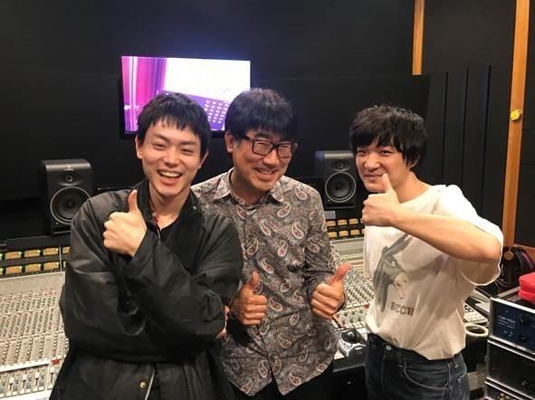 写真左から、菅田将暉、亀田誠治、石崎ひゅーい