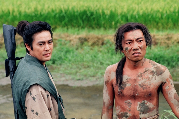 1996年放送「秀吉」名場面集、竹中直人&村上弘明が撮影秘話語る!『麒麟(きりん)がくるまでお待ちください』