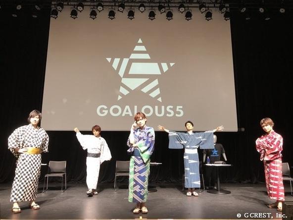GOALOUS5『声福訓練~緊急招集!重大作戦の報告なのだ~』集合写真