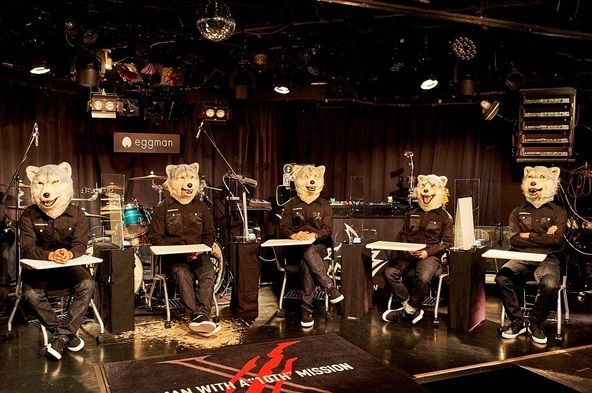 MAN WITH A MISSION (c) 撮影=酒井ダイスケ
