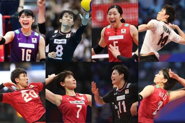 バレー男女日本代表が紅白戦を有料ライブ配信する (c)JVA2020-07-022