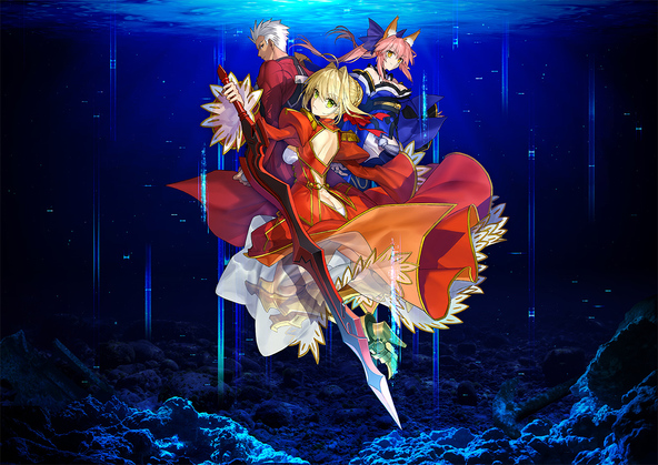 『Fate/EXTRA Record』キービジュアル (C)TYPE-MOON (C)TYPE-MOON studio BB All Rights Reserved.
