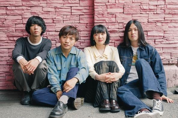 Easycome(L⇒R:コダマ、johnny、ちーかま、落合) 撮影=Misa Shinshi