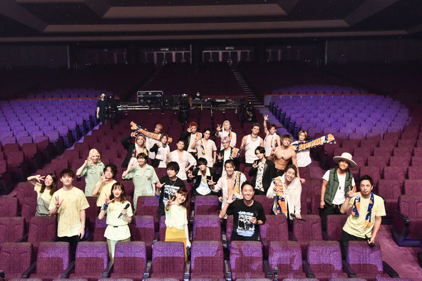 THE RAMPAGE・平井 大・緑黄色社会・chelmicoがライブを、チュートが漫才披露!オンラインイベントが無観客有料配信