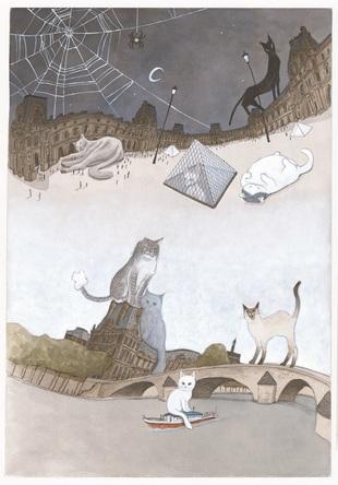 『ルーヴルの猫』で松本大洋氏が二度目のアイズナー賞受賞! 本人からコメントが到着!! (1)
