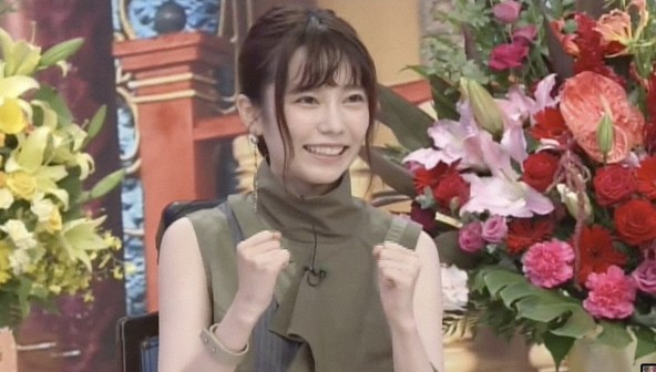 『踊る!さんま御殿!!』<ゲスト>島崎遥香 (c)NTV