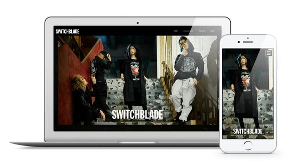 HYDEプロデュースブランド「SWITCHBLADE」のオフィシャルサイトがオープン!