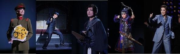 宝塚歌劇、現役トップスター5人の主演作品などを5日間無料放送 (C)宝塚歌劇団 (C)宝塚クリエイティブアーツ