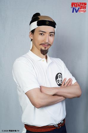 『戦国炒飯TV』にCUBERSのTAKAが初登場 ちょんまげ・つけ髭の直江兼続役に「この芝居に注ぎ込んだので是非ご覧ください」