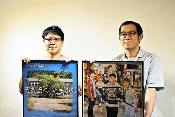 (左から)土田英生(MONO)、上田誠(ヨーロッパ企画)。 (c)[撮影]吉永美和子(人物すべて)