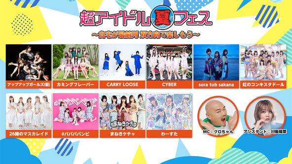 【ニコニコネット超会議2020夏】「超アイドル夏フェス」がいよいよ開催!! (1)