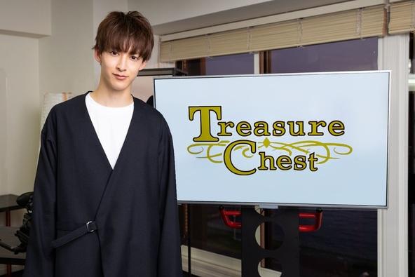伊藤あさひ初MCトーク企画が誕生! uP!!!「Treasure Chest(宝箱)」配信スタート! 初回ゲストは市川知宏と中川大輔 (1)