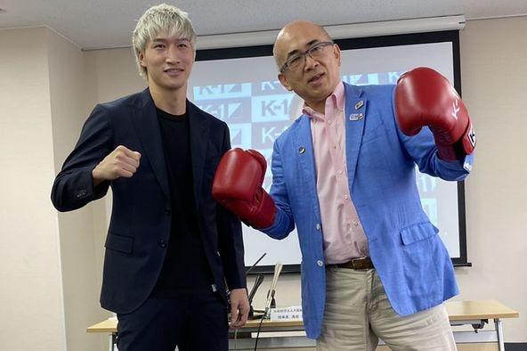 「K-1 WORLD GP」9.22(火・祝)大阪に向けて大阪観光局にて記者会見を実施 溝畑宏理事長「格闘技を大阪観光の目玉の一つにしたい」