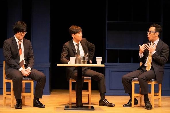 東京03(左から)豊本明長、飯塚悟志、角田晃広