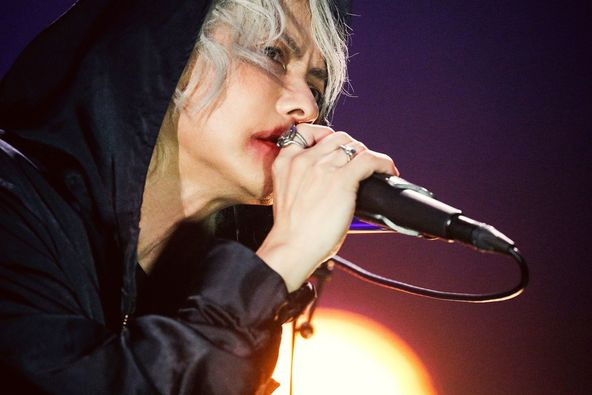 "HYDEが新たな形で""繋がる""ライブに手ごたえ 『HYDE LIVE 2020 Jekyll & Hyde』がZepp Hanedaからスタート (c)撮影=岡田貴之"