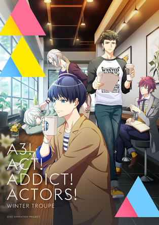 TVアニメ『A3!』SEASON WINTERキービジュアル  (C)Liber Entertainment Inc. All Rights Reserved.