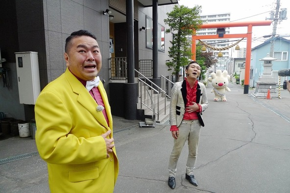 『ブギウギ専務』ご当地キャラへの道」完結編(1) (c)STV