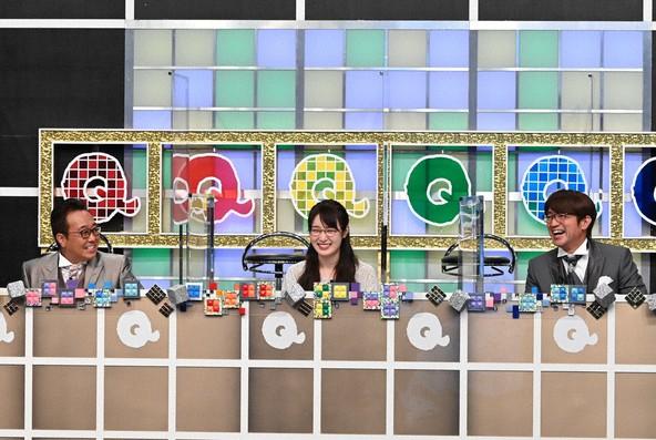 『Qさま!!』<MC>三村マサカズ,大竹一樹(さまぁ〜ず)、高山一実(乃木坂46) (c)テレビ朝日