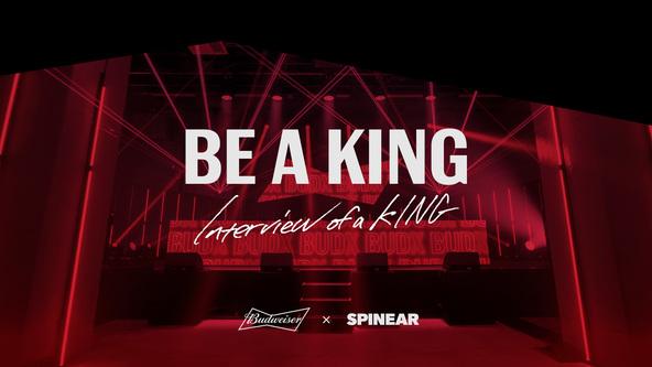 バドワイザー×SPINEARによるブランデッドポッドキャスト番組 tofubeatsやAKLO、コムアイら、現代のKINGたちがその生き様を語るリレートーク番組「BE A KING」配信開始 (1)