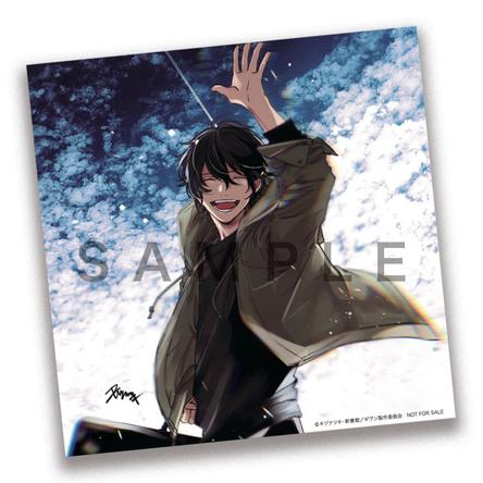 キヅナツキ描き下ろしイラストカード (C)キヅナツキ・新書館/ギヴン製作委員会