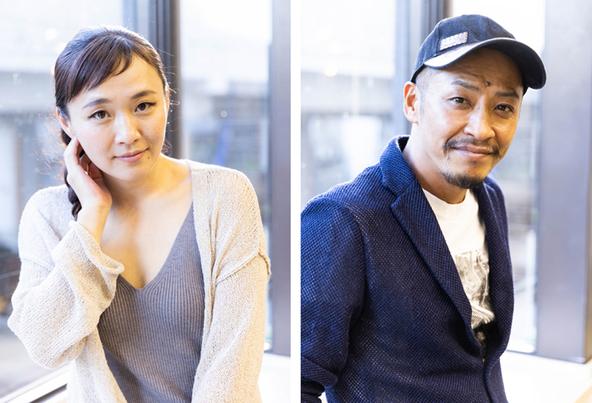 (左)桑原裕子 (右)成清正紀 (c) (撮影:高橋定敬)