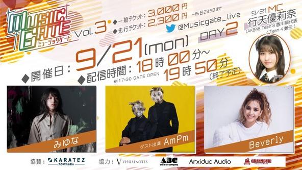 AKB48メンバーが恒例MCを務める 新感覚LIVE配信音楽イベント『MUSIC GATE Vol.3』開催! 人気TVアニメ「フルーツバスケット」コラボも決定! (1)