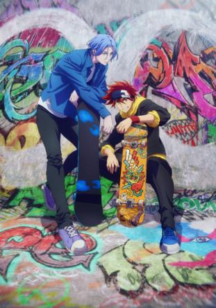 内海紘子×ボンズの最強タッグによる、青春オリジナルアニメーション!!TVアニメ「SK∞ エスケーエイト」 2021年1月より放送開始! (1)
