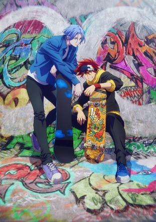 内海紘子×ボンズ最新作 青春オリジナルアニメ『SK∞ エスケーエイト』2021年1月より放送開始 (C)ボンズ・内海紘子/Project SK∞