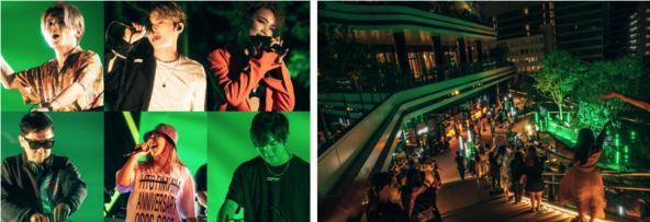 Crystal Kay・TeddyLoid・SKY-HI・KSUKE・MINMI・☆Taku Takahashi(m-flo)「TAKESHIBA Near Future LIVE」レポート (1)