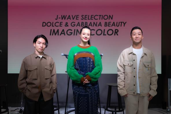 SIRUP、瑛人が登場!話題の楽曲「香水」生演奏も!『J-WAVE SELECTION DOLCE&GABBANA BEAUTY IMAGINE COLOR』9/27(日)22:00~22:54OA