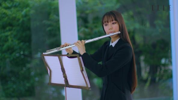 Cocomi「流れる幸福を音楽にできたらいいなと思い…」幻の楽曲をフルートで奏でる動画も!『エル・ジャポン』初登場で表紙登場