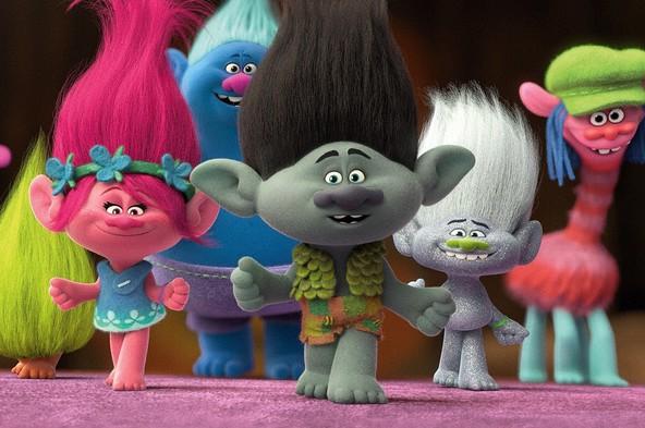 『トロールズ』場面(2) (c)2016 DreamWorks Animation,L.L.C. All rights reserved.