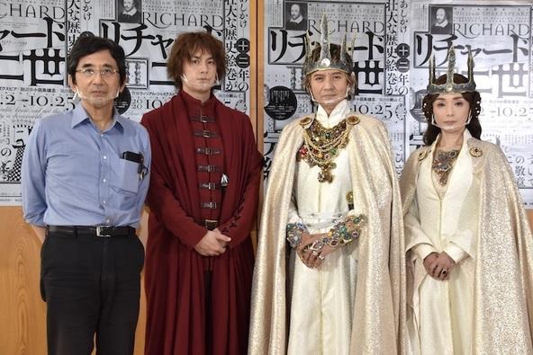 鵜山仁、浦井健治、岡本健一、中嶋朋子(左から)