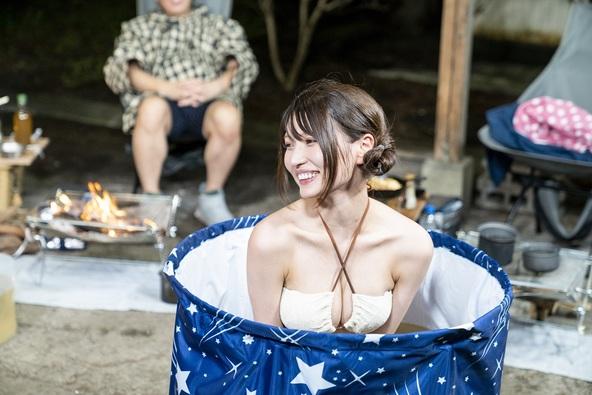 河口湖周辺を満喫!天津・木村流 おもてなしキャンプ。キャンプ場にミスマッチなセクシーショットも!?10月7日(水)放送「おぎやはぎのハピキャン」
