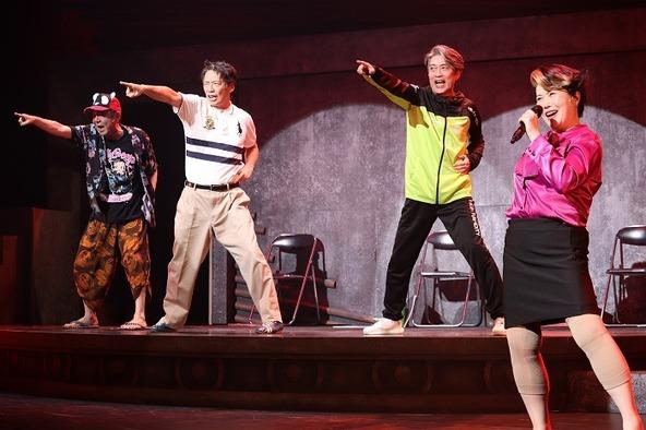 """""""ねずみの三銃士""""第4回企画公演『獣道一直線!!!』ゲネプロより"""