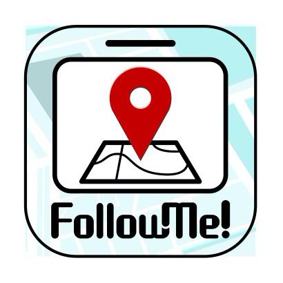 ルート案内アプリ「Follow Me!」