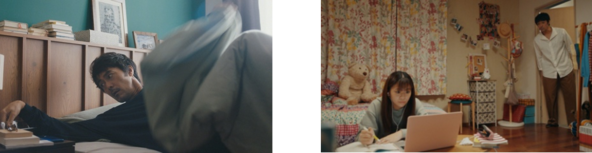 阿部寛さん×永瀬莉子さんの親子CM、第2弾!「ニューノーマルを快適に」をコンセプトに、リモート生活を楽しく明るくおくる家族を描く新TVCM 「BBIQ家の人々 寝坊篇/思春期篇」 (1)