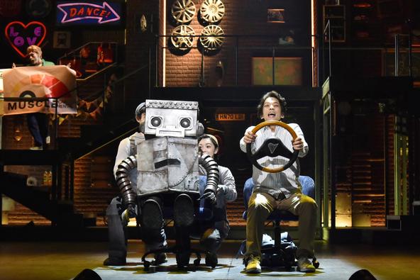 『ロボット・イン・ザ・ガーデン』(撮影:阿部章仁)
