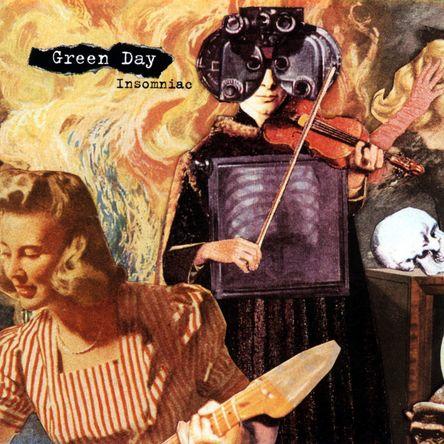 『Insomniac 25th Anniversary Remastered Orange Vinyl 2LP』ジャケット