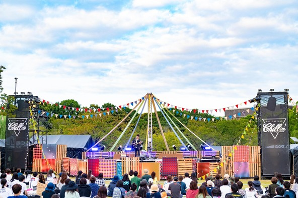 『大阪文化芸術フェス presents OSAKA GENKi PARK』【Chillin' Vibes STAGE】2日目