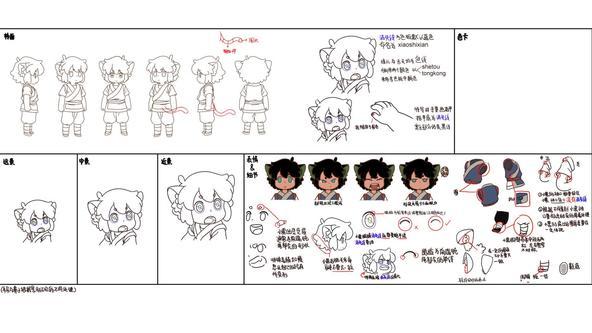 キャラデザ&壮大な美術設定資料が一挙公開 11/7公開『羅小黒戦記(ロシャオヘイセンキ) ぼくが選ぶ未来』 (C) Beijing HMCH Anime Co.,Ltd