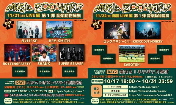 music zoo KOBE太陽と虎10周年記念イベント『Real 10 th  Anniversary MUSIC ZOO WORLD』