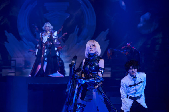 『Fate/Grand Order THE STAGE -冠位時間神殿ソロモン-』プレビュー公演から舞台写真を公開 東京公演千秋楽のライブ配信も決定 (C)TYPE-MOON / FGO STAGE PROJECT