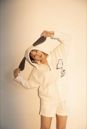 <gelato pique(ジェラート ピケ)>女優・モデルの本田翼を起用した新作ルームウエアの連載がスタート (1)