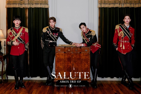 K-POPグループ AB6IX(エイビーシックス)、11月2日にニューアルバム「SALUTE」を発売!日本語訳歌詞カードや特典付きでの日本限定特典販売も! (1)
