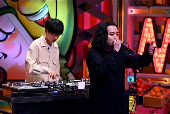 『バナナサンド』R-指定、DJ松永(Creepy Nuts) (c)TBS